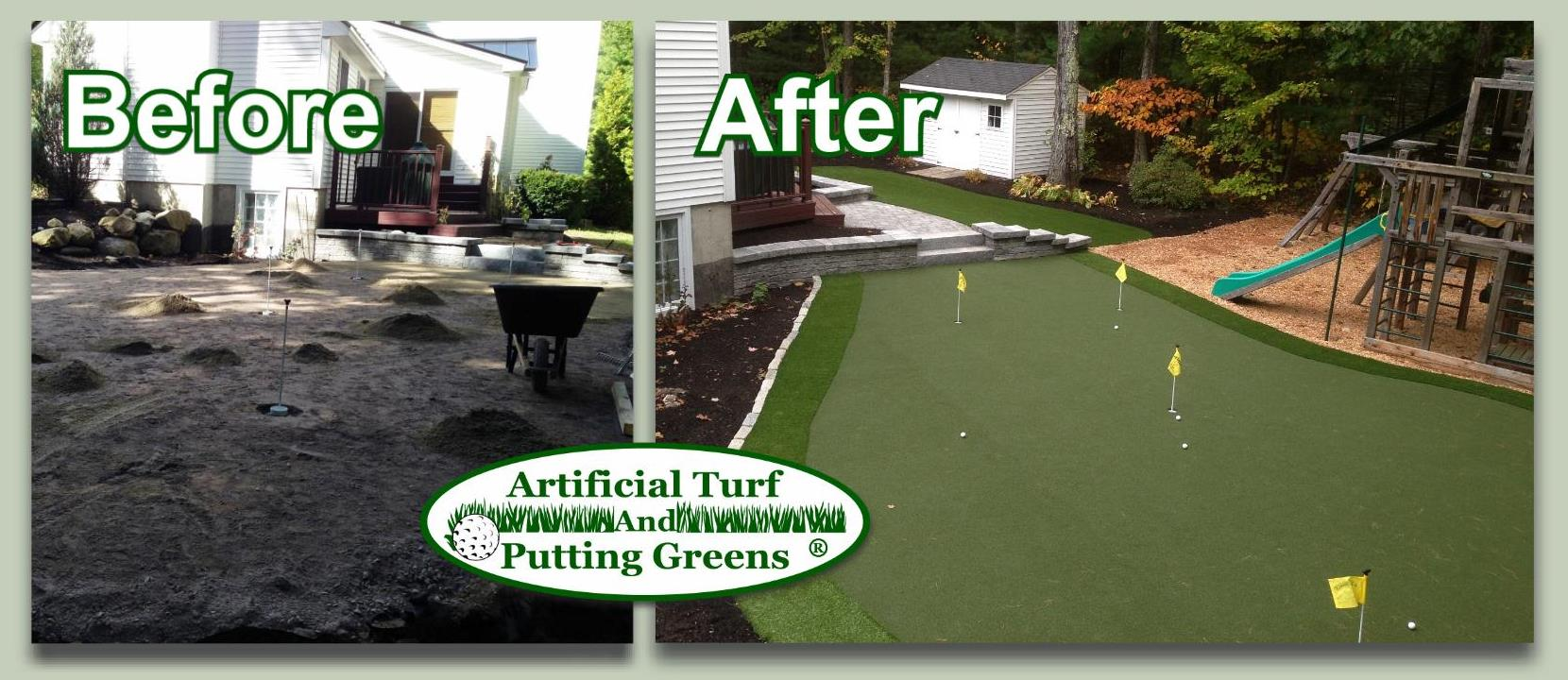 putting greens for indoor outdoor practice training areas